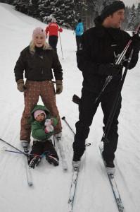 Nordmenn er ikke født med ski på bena, men ...