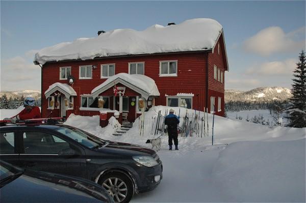 Solvang byr på parkeringsplasser, vafler  flott utsikt over Garsjø